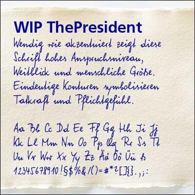 WIP ThePresident