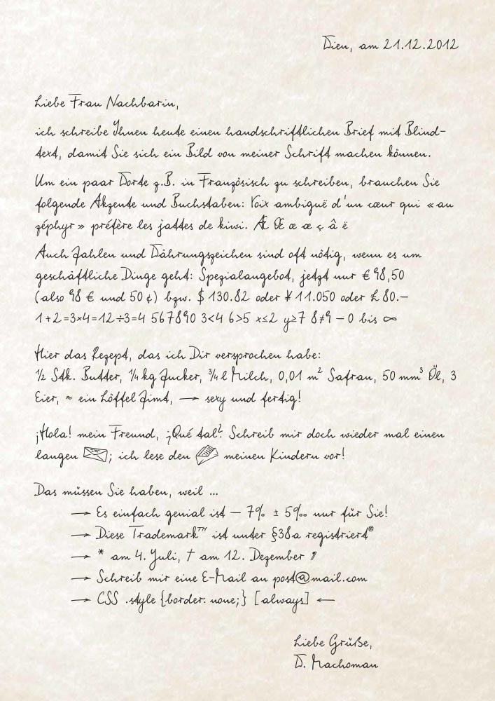 WIP-MachoMan Schriftmuster