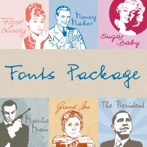 WIP Fonts Package – Write It Personal Font