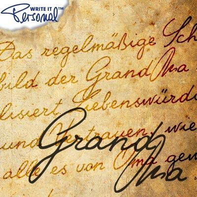 WIP Fonts Grand Ma