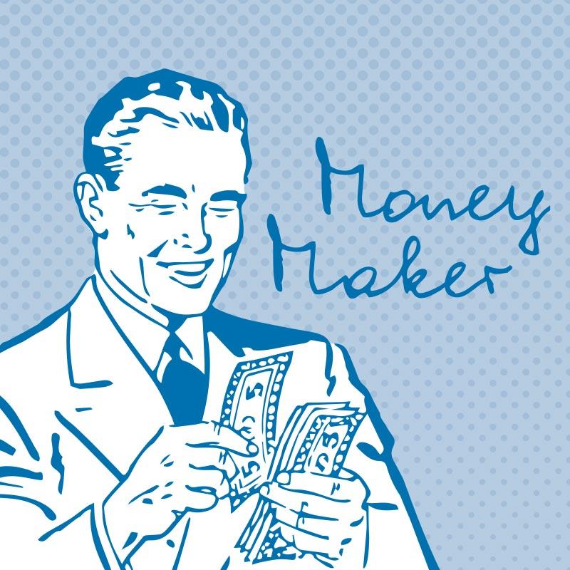 Money Maker – Write It Personal Font