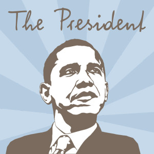 The President – Write It Personal Font